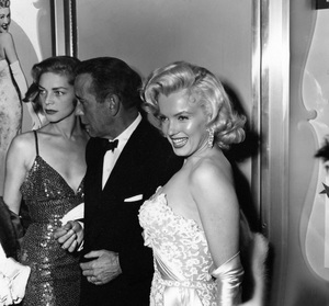 """Lauren Bacall, Humphrey Bogart and Marilyn Monroe at the premiere of """"How to Marry a Millionaire""""circa 1953** I.V. - Image 0758_1069"""