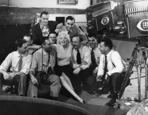 """Marilyn Monroe on """"Person to Person""""1955** I.V.M. - Image 0758_1178"""