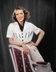 Loretta Young circa 1938 © 1978 James Doolittle / ** K.K. - Image 0759_0148a