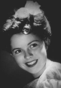 Shirley Temple, circa 1944. © 1978 Ted Allan MPTV