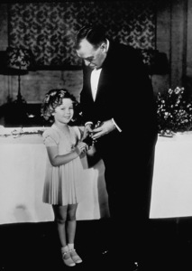 Shirly Temple at the 7th Annual AcademyAwards with Irvin S. Cobb.**R.C. - Image 0763_0566