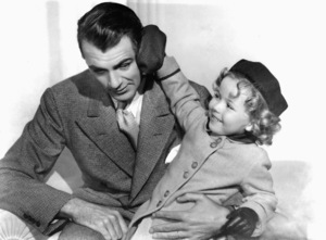 Shirley Temple with Gary Coopercirca 1934**I.V. - Image 0763_0584