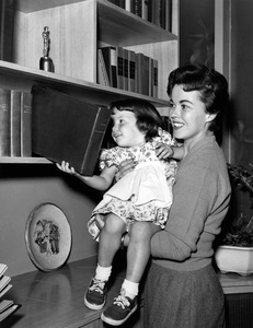 Shirley Temple and her daughter Lori at home in Atherton, California1956Photo by Gerald Smith - Image 0763_0596