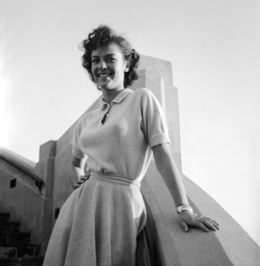 """Natalie Wood during the making of """"Rebel Without a Cause"""" May 19, 1955. © 1978 Sid Avery - Image 0764_0001"""