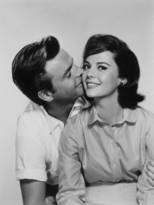 Natalie Wood with Robert Wagner, 1959.Photo by Ager**I.V. - Image 0764_0128
