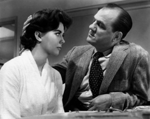 """Natalie Wood with Karl Malden in""""Bombers B-52,"""" 1957.Photo by Mac Julian - Image 0764_0168"""