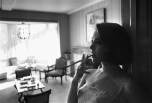 Natalie Wood at home in Bel Air, Ca., 1966. © 1978 Gunther - Image 0764_0274