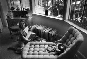 Natalie Wood at home in Bel Air, Ca., 1966. © 1978 Gunther - Image 0764_0275