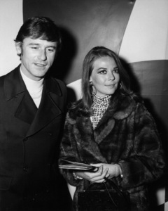 "Natalie Wood and Roddy McDowall at Premiere Party for ""The President"