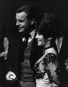"""Natalie Wood with Robert Wagner at a """"Share Party"""" May 6, 1961 © 1978 Lou Jacobs Jr. - Image 0764_0330"""
