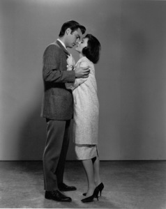 """Natalie Wood with Robert Wagner for""""All The Fine Cannibals,"""" 1960. - Image 0764_0346"""