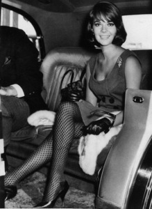 Natalie Wood arriving at London Airport, 1964. - Image 0764_0358