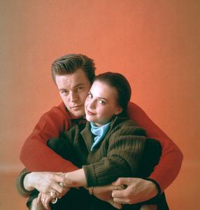 Natalie Wood with husband Robert Wagner1958 © 2001 Mark Shaw - Image 0764_0377