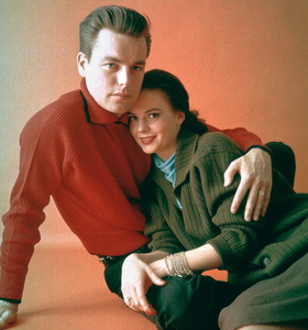 Natalie Wood with husband Robert Wagner1958 © 2001 Mark Shaw - Image 0764_0379