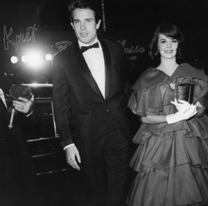 """Warren Beatty and Natalie Wood at the premiere of """"How the West Was Won""""1962Photo by Joe Shere - Image 0764_0391"""