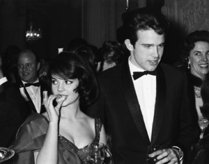 """Natalie Wood and Warren Beatty at the American premiere of """"How the West Was Won""""1962© 1978 Kim Maydoyle Lynch - Image 0764_0459"""