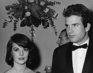 "Natalie Wood and Warren Beatty at the American Premiere of ""How the West Was Won""1962© 1978 Kim Maydole Lynch - Image 0764_0461"