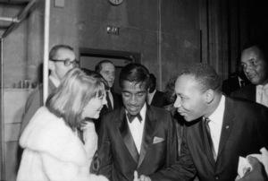 Natalie Wood, Sammy Davis Jr. and Martin Luther King Jr.1963© 1978 David Sutton - Image 0764_0469