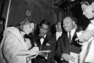Natalie Wood, Sammy Davis Jr. and Martin Luther King Jr.1963© 1978 David Sutton - Image 0764_0470