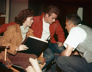 """""""Rebel Without a Cause""""Natalie Wood, James Dean, director Nicholas Ray1955** I.V. - Image 0764_0802"""