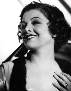 Myrna Loy 1935 Photo by Ted Allan