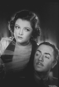 "Myrna Loy and William Powell in ""The Thin Man,"" 1934. © 1978 Ted Allan MPTV"