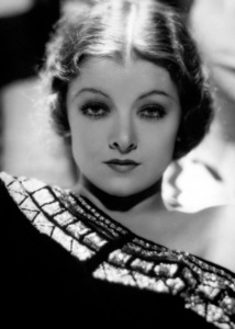 Myrna Loyc. 1932Photo by George Hurrell - Image 0771_0322
