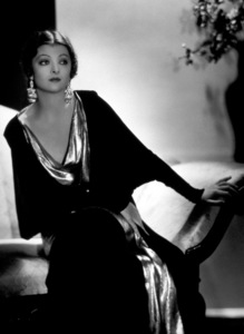 Myrna Loyc. 1933Photo by George Hurrell - Image 0771_0323