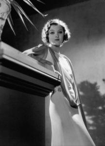 Myrna Loyc. 1933Photo by George Hurrell - Image 0771_0325