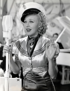 "Ginger Rogers in ""Follow the Fleet""1936 RKO**I.V. - Image 0772_2291"