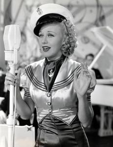 """Ginger Rogers in """"Follow the Fleet""""1936 RKO**I.V. - Image 0772_2291"""