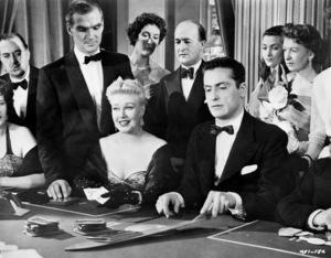 "Stanley Baker and Ginger Rogers in ""Twist of Fate""1954 United Artists** I.V. / J.J. - Image 0772_2305"