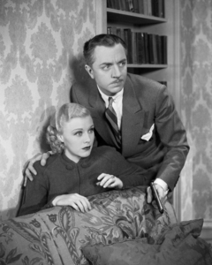 """Ginger Rogers and William Powell in """"Star of Midnight""""1935 RKO** I.V / M.T. - Image 0772_2306"""