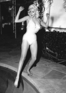 Jayne Mansfield testing the waterPhoto by Gabi Rona - Image 0774_0012