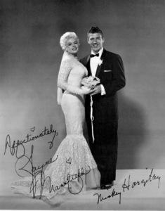 Jayne Mansfield and Mickey Hargitay