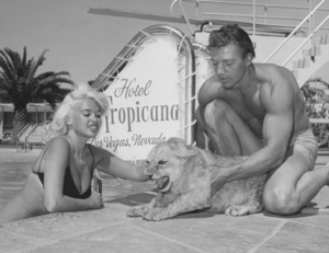 Jayne Mansfield and her husband Mickey HargitayCirca 1960 - Image 0774_0564