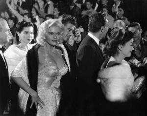 Ann Miller, Jayne Mansfield, Mickey Hargitay and Ann Baxter at a Hollywood premiere1960© 1978 Lou Jacobs Jr. - Image 0774_0609