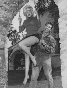 Jayne Mansfield and husband Mickey Hargitay1963 © 1978 Eric Skipsey - Image 0774_0615