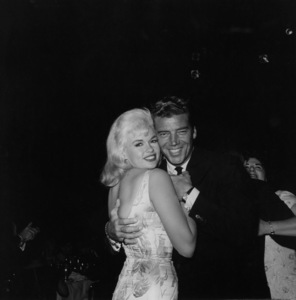 Jayne Mansfield with husband Mickey HargitayCirca 1959 © 1978 Joe Shere - Image 0774_0632
