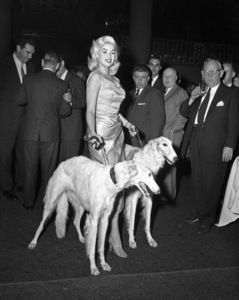Jayne Mansfield with the Seagram