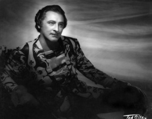 John Barrymore 1936 © 1978 Ted Allan