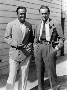 John Barrymore with Douglas Fairbanks Sr.circa 1930** I.V. - Image 0801_0825