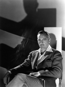 John Barrymore 1936 Photo by Ted Allan ** I.V.