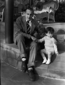 John Barrymore with his son, John Drew Barrymorecirca 1933** I.V. - Image 0801_0840