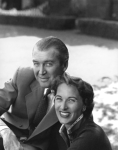 James Stewart with his wife Gloria1959 © 1978 John Engstead - Image 0802_0009