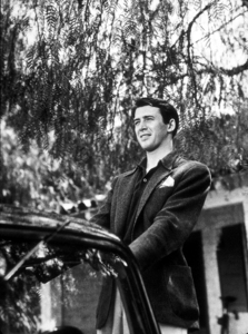 James Stewart at home, 1936. © 1978 Ted Allan MPTV