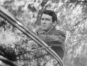 James Stewart at home  1936 © 1978 Ted Allan