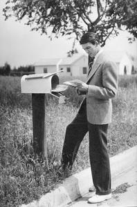 James Stewart 1936 © 1978 Ted Allan
