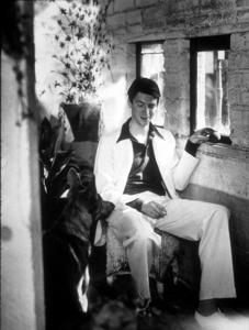 James Stewart at home, 1936. © 1978 Ted Allan MPTV