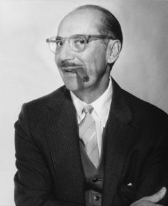 Groucho Marx circa 1960 © 1978 Glenn Embree - Image 0802_0124